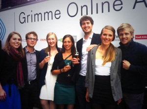 Grimme Online Award Winners 2013